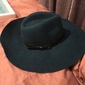 BCBG Wool Floppy Hat w/buckle